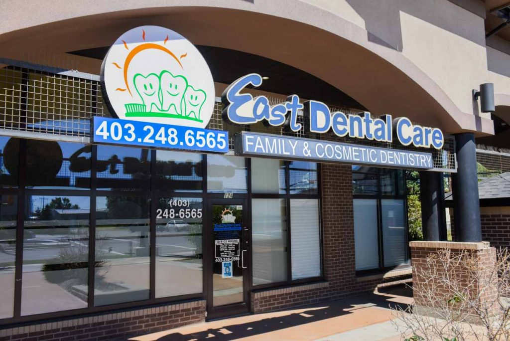 Building Entrance| East Dental Care | General Dentist | 17 Ave SE Calgary