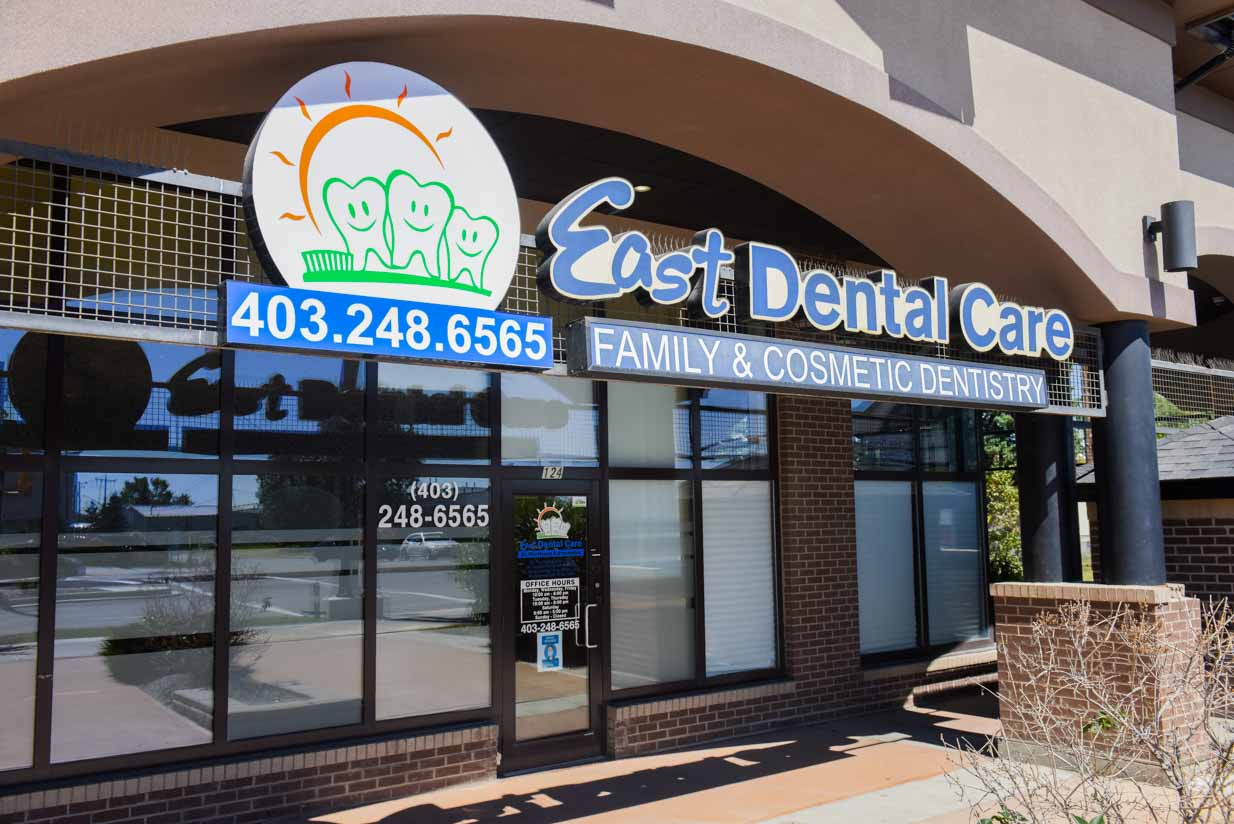 Building Entrance| East Dental Care | General Dentist | 17 Ave SE Calgary