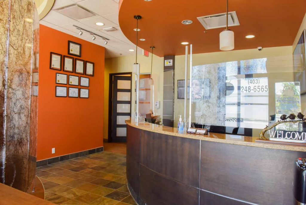 Reception Area | East Dental Care | General Dentist | 17 Ave SE Calgary