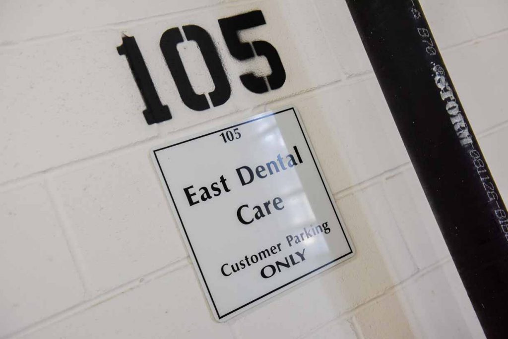 Free Underground Parking | East Dental Care | General Dentist | 17 Ave SE Calgary