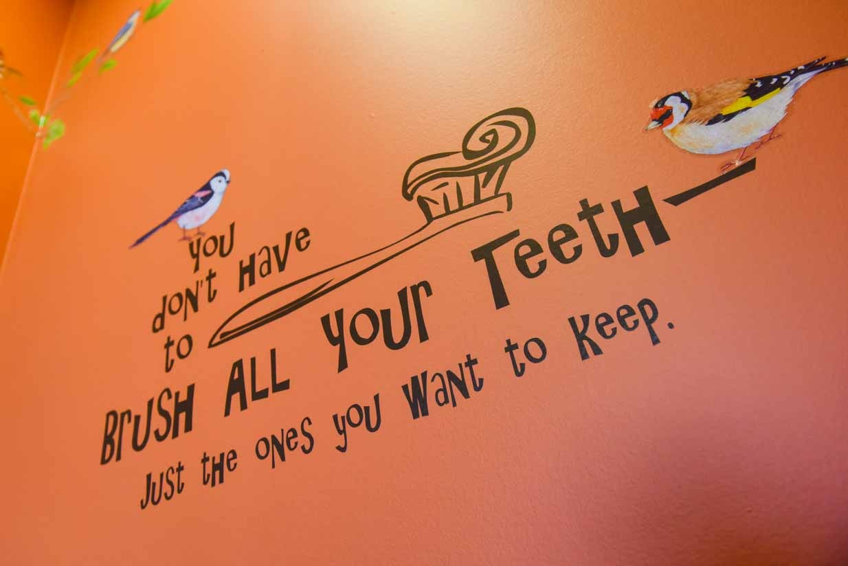 Entrace Message | East Dental Care | General Dentist | 17 Ave SE Calgary
